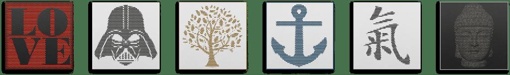 Galeriemotive hålvtone - große Auswahl