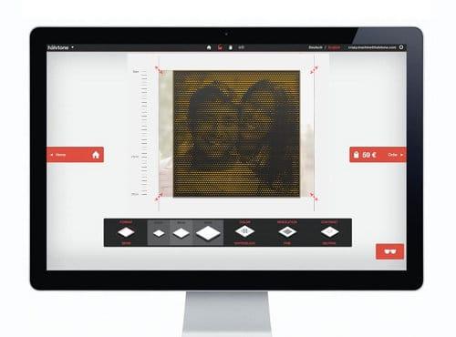 Virtuelle Werkstatt halvtone